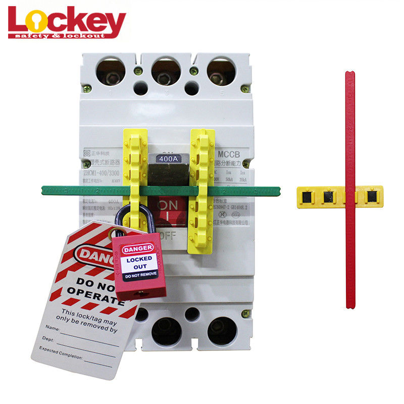 ABS Oversized Circuit Breaker Blocker Bar Lockout Lock Mccb With 190mm Rod